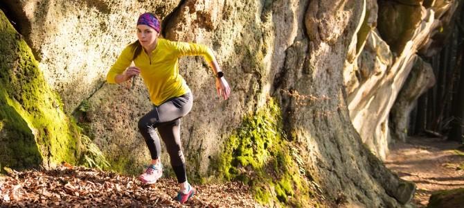 Shazujte kila sprintem do kopce