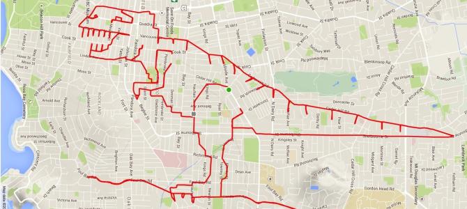 BĚŽECKÉ MALOVÁNÍ: Dejte mi GPS, nakreslím tyranosaura