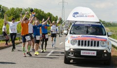 Wings for Life World Run: nejdál doběhl Ital, chytili ho na 88. km