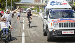 Zkuste bratislavský závod, při kterém vás cíl dojíždí