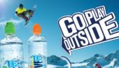 Alpská voda se silou přírodního kyslíku. Go Play Outside!